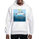 Whale Shark Love Hooded Sweatshirt