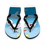 Whale Shark Love Flip Flops