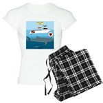 Whale Shark Love Women's Light Pajamas