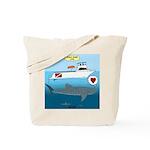 Whale Shark Love Tote Bag