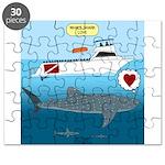 Whale Shark Love Puzzle