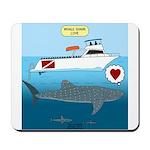Whale Shark Love Mousepad