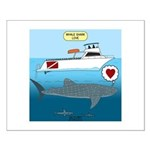 Whale Shark Love Small Poster