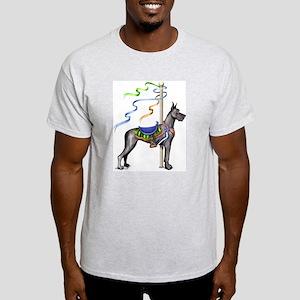 Great Dane Black Carousel Light T-Shirt