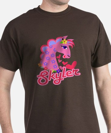 Skyler Loves Ponies T-Shirt