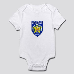 Maryland Flip Cup State Champ Infant Bodysuit