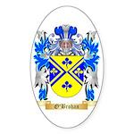 O'Brohan Sticker (Oval 50 pk)