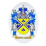 O'Brohan Oval Ornament