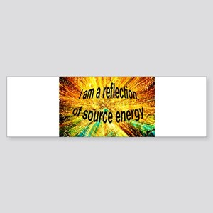 Reflection Bumper Sticker