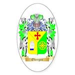 Obregon Sticker (Oval)