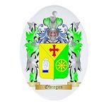 Obregon Oval Ornament