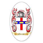 Obrecht Sticker (Oval 50 pk)