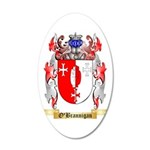 O'Brannigan 35x21 Oval Wall Decal