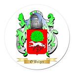 O'Bolger Round Car Magnet