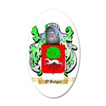 O'Bolger 35x21 Oval Wall Decal