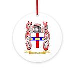 Obert Round Ornament