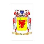 Oberst Sticker (Rectangle 50 pk)