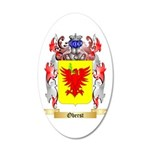 Oberst 20x12 Oval Wall Decal