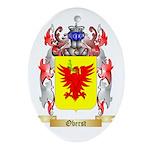 Oberst Oval Ornament