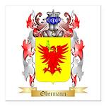 Obermann Square Car Magnet 3