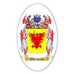 Obermann Sticker (Oval 50 pk)
