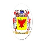 Oberman Oval Car Magnet