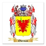 Oberman Square Car Magnet 3