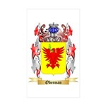 Oberman Sticker (Rectangle 50 pk)