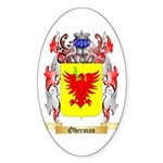 Oberman Sticker (Oval 50 pk)