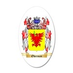 Oberman 20x12 Oval Wall Decal