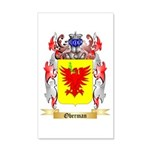 Oberman 20x12 Wall Decal
