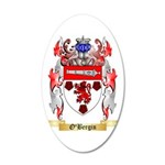 O'Bergin 35x21 Oval Wall Decal