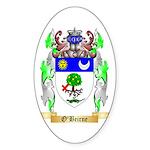 O'Beirne Sticker (Oval 10 pk)