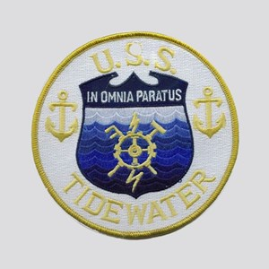 USS TIDEWATER Round Ornament