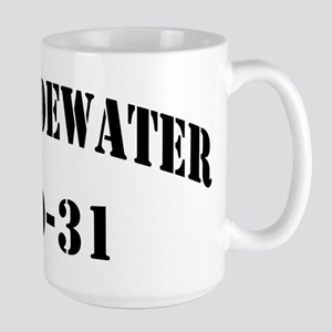 USS TIDEWATER 15 oz Ceramic Large Mug