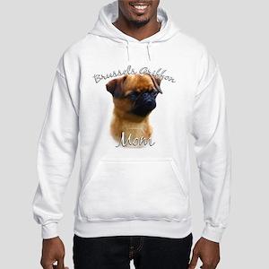 Brussels Mom2 Hooded Sweatshirt