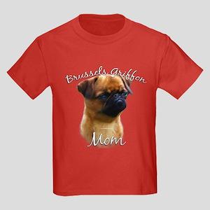 Brussels Mom2 Kids Dark T-Shirt