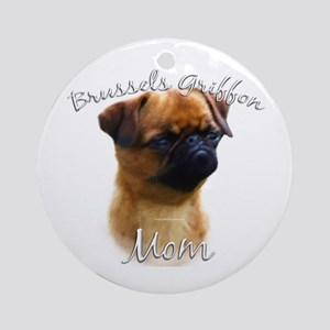 Brussels Mom2 Ornament (Round)