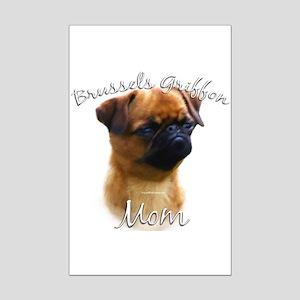 Brussels Mom2 Mini Poster Print