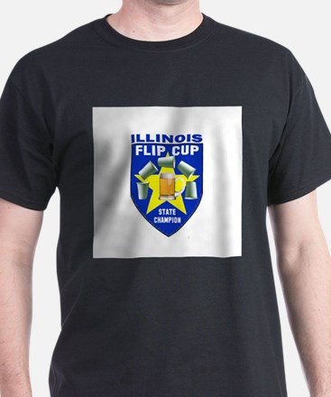 Illinois Flip Cup State Champ T-Shirt