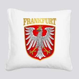 Frankfurt Square Canvas Pillow