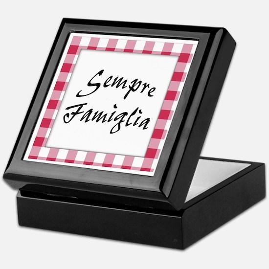 Sempre Famiglia Keepsake Box