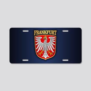 Frankfurt Aluminum License Plate