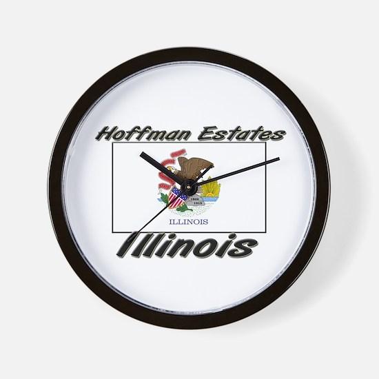 Hoffman Estates Illinois Wall Clock