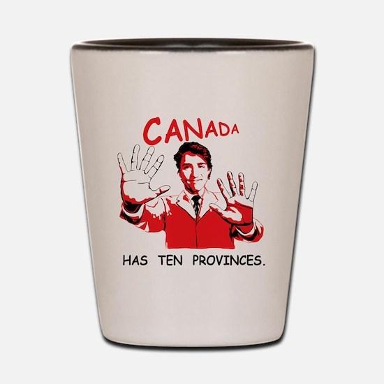 Funny Prime minister Shot Glass
