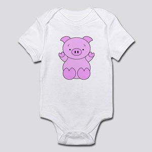 Cute Cartoon Pig Infant Bodysuit