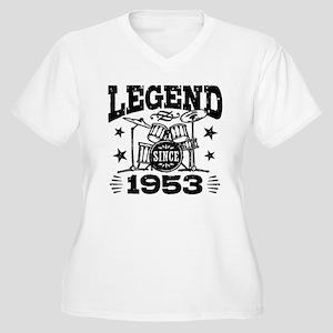 Legend Since 1953 Women's Plus Size V-Neck T-Shirt