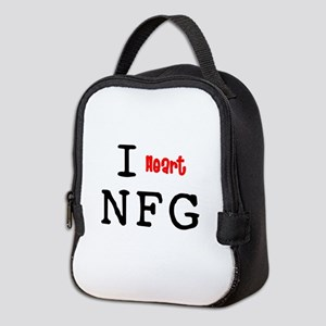 heartNFG2 Neoprene Lunch Bag