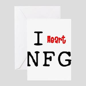 heartNFG2 Greeting Cards