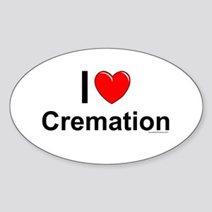 Cremation Sticker (Oval)